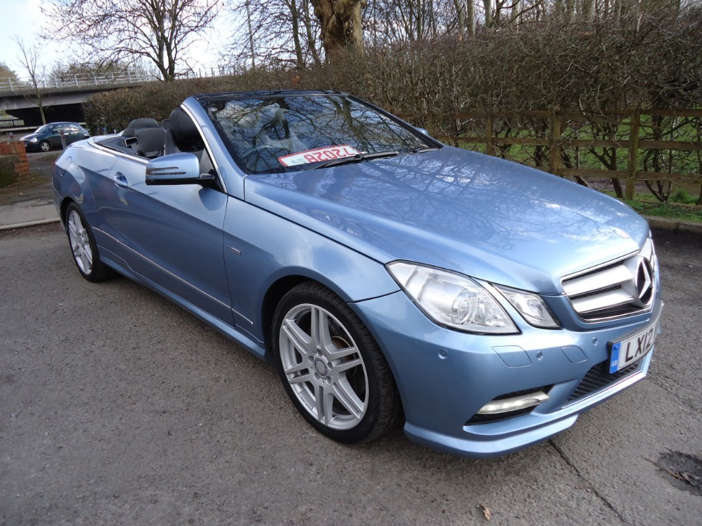 Used Cars Mercedes Benz E Class Cardiff