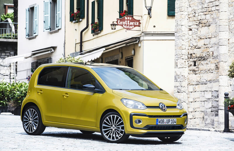 The Volkswagen up! has been substantially revised