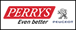 Logo of Perrys of Milton Keynes Peugeot
