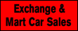 Logo of Exchange and Mart Car Sales