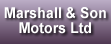 Logo of Marshall & Son Motors