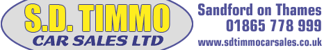S D Timmo Car Sales Ltd