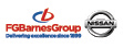Logo of FG Barnes Nissan Guildford