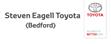 Logo of Steven Eagell Toyota Bedford