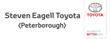 Logo of Steven Eagell Toyota Peterborough