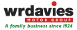 Logo of W R Davies Telford Toyota