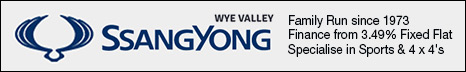 Wye Valley Ssangyong