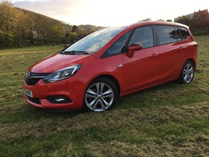 New Vauxhall  Zafira Tourer review