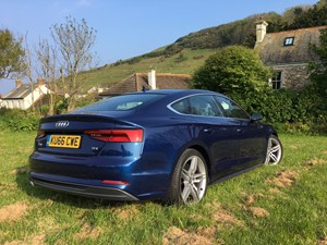 New Audi A5 review