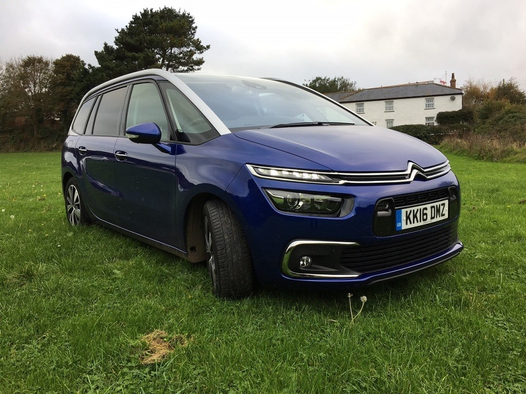 New Citroen C4 Grand Picasso review