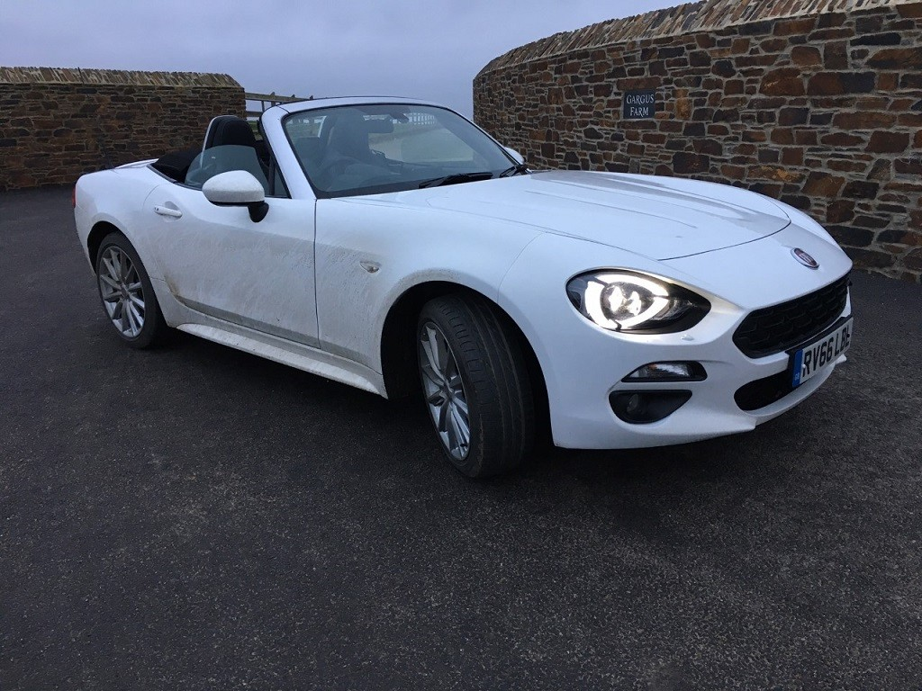 fiat 124 spider review read fiat 124 spider reviews. Black Bedroom Furniture Sets. Home Design Ideas