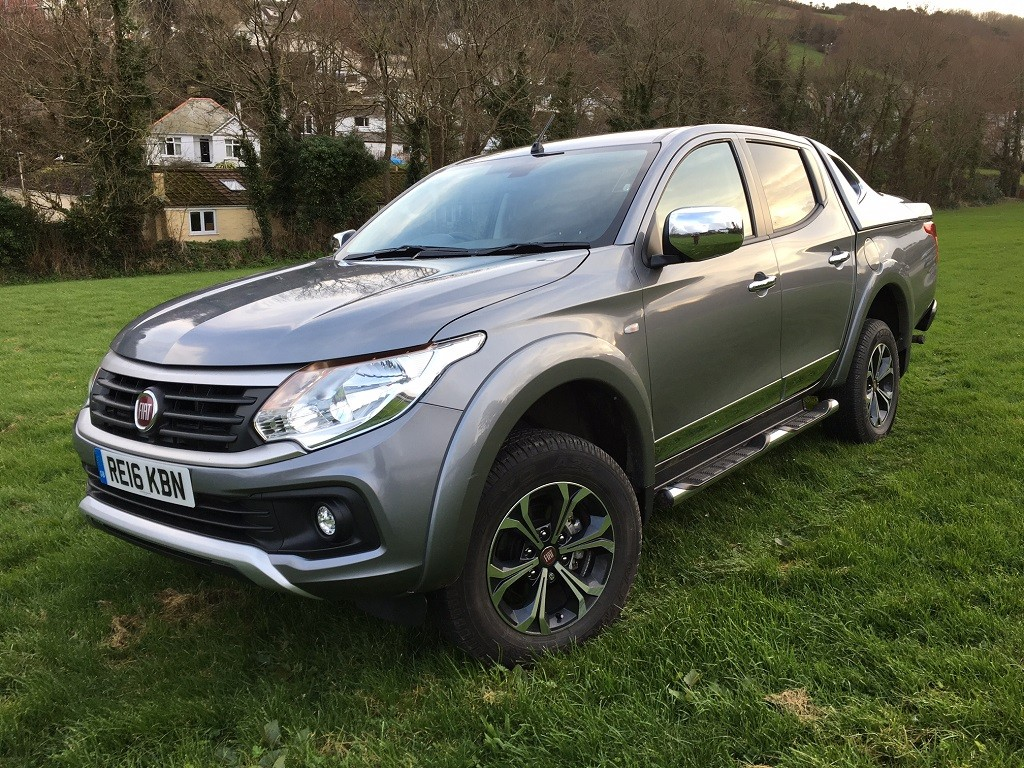 New Fiat Fullback review