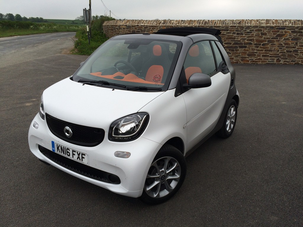 New Smart ForTwo Cabrio review