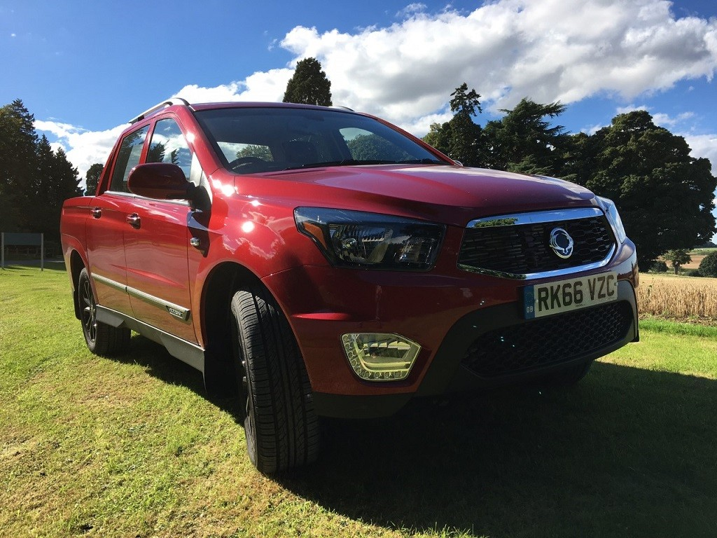 New Ssangyong Musso review