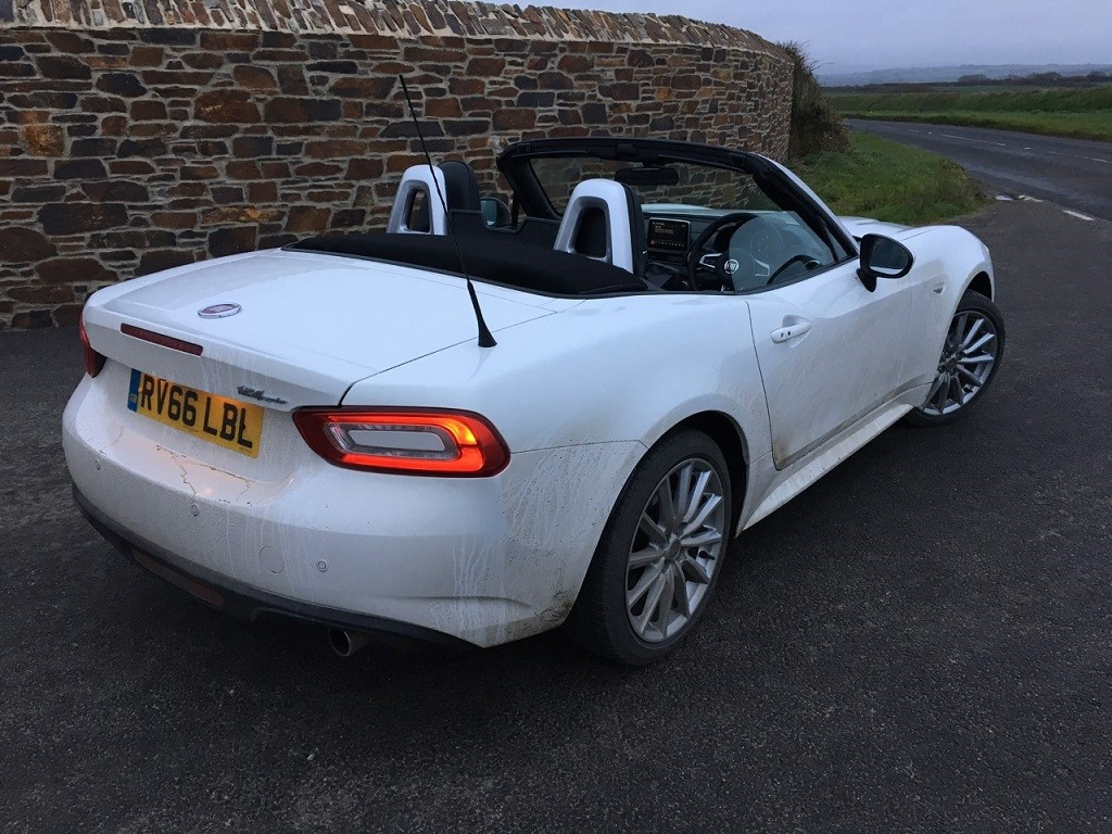 fiat 124 spider review read fiat 124 spider reviews