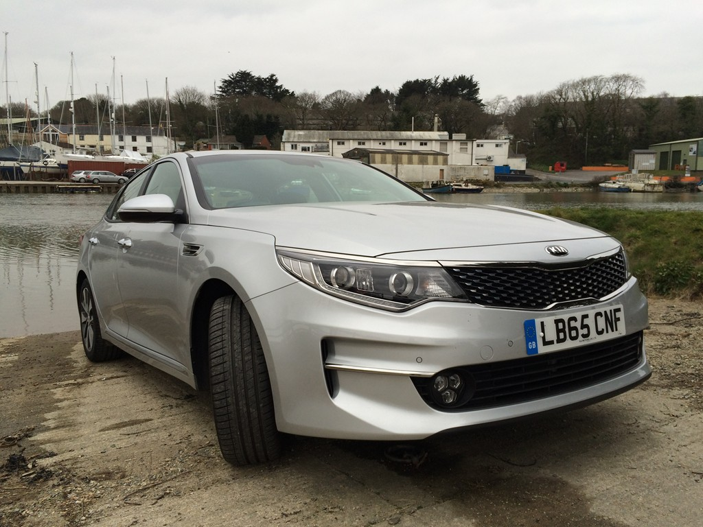 New Kia Optima review