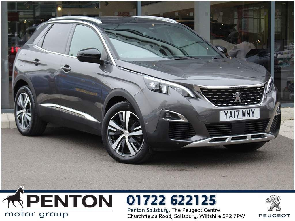peugeot 3008 1.2 puretech gt line s s 5dr - additional panoramic sunroof suv 2017