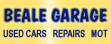 Logo of Beale Garage