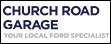 Logo of Church Road Garage