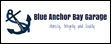 Logo of Blue Anchor Bay Garage